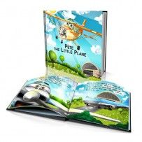 "Personalised Hard Cover Story Book:     ""The Little Plane"" / Dinkleboo"