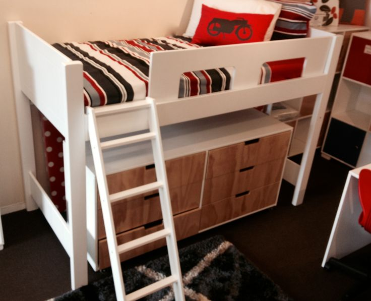 Urban Mid Sleeper with Trendy 1600mm long drawers.