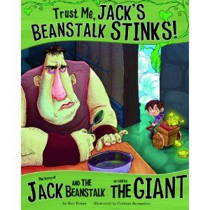 Great book for teaching point of view!Pointofview, Reading, Point Of View, Jack Beanstalk, Book, Beanstalk Stink, Jack O'Connel, Trust Me, Teaching Point