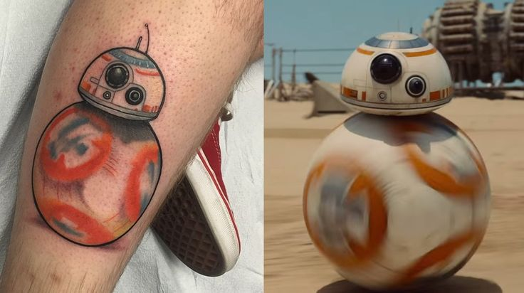 Man gets Star Wars: The Force Awakens droid tattoo, prays droid doesn't turn out to be a Nazi