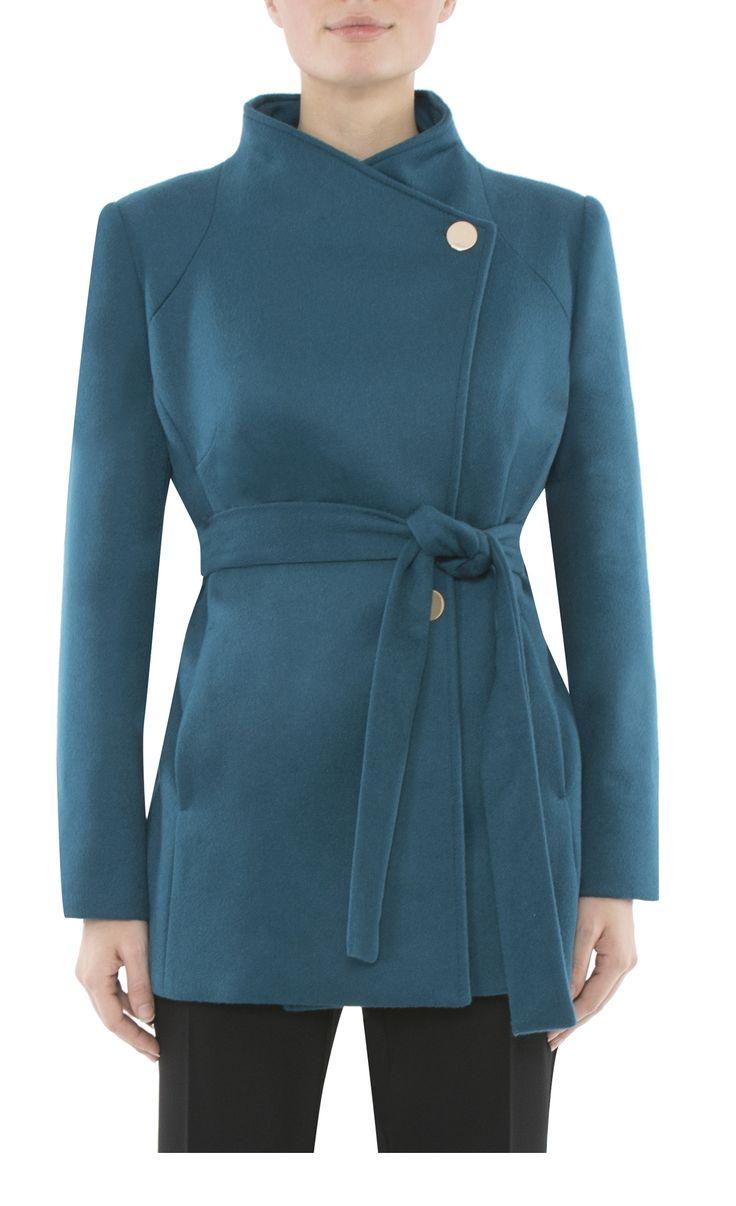 Women's Workwear  | Peacock Wool Coat