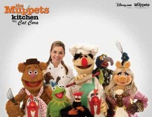 Cooking up fun in the kitchen with Cat Cora and the Muppets!