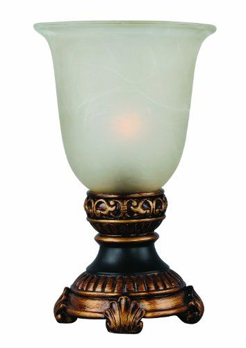 Park Madison Lighting PMA-1032 10-Inch Tall Glass Urn Acc...