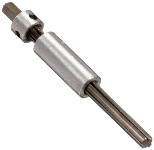 "Walton 10083 #8, 3 Flute Tap Extractor With Square Shank. During the past 100 years we have added to our original line of Walton Tap Extractors, the ""REPS"" line of Pipe, Stud & Screw Extractors and our Tap Extensions for both machine and hand tapping. Threads per inch need not be specified as Tap Extractors will fit both NC and NF taps. Our Tap Extractors will fit both NC and NF taps. Hardened steel fingers of Walton Tap Extractors fit in the flutes of a broken tap to back it out..."