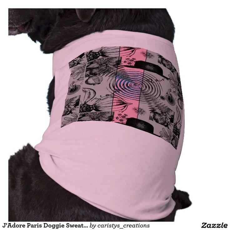 J'Adore Paris Doggie Sweater Pet Clothing