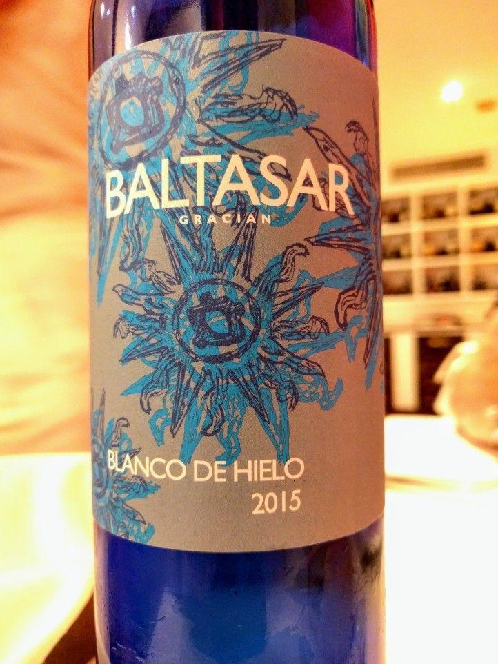 Baltasar Gracian Blanco de hielo 2015 Bodega Santa Cecilia