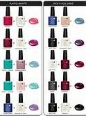 CND Shellac Color Layering -
