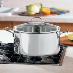 Stainless Steel Classic 9 quart Dutch Oven...Click on picture for more details....contact lindabradley at myprincesshouse dot com