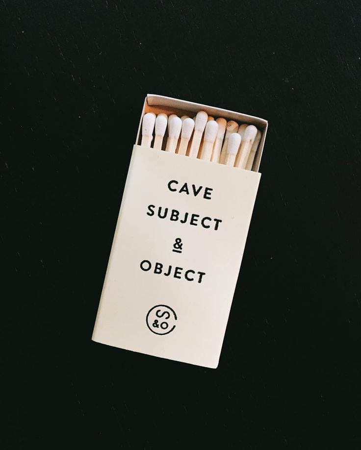 Cave subject & object