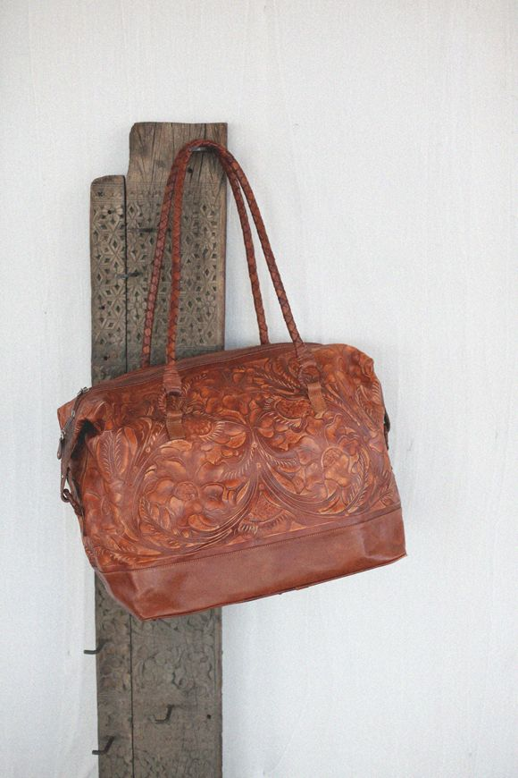 This beautiful leather creation was handmade in Guatemala, hint hint Evan.  It comes from a brand named Hiptipico, which sells all 100% authentic merchandise, and reinvests profits into women's cooperatives, family shops, and Mayan handicrafters. This is the type of bag that makes you proud to carry it around.