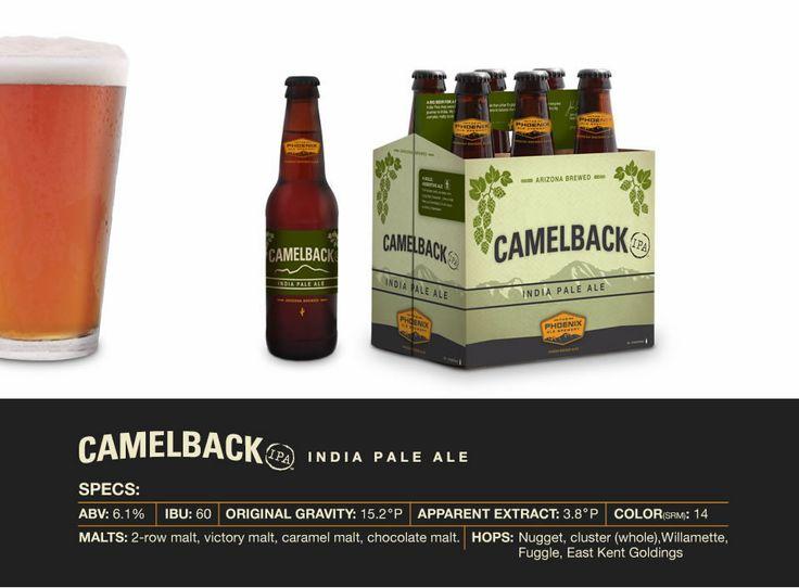 Camelback IPA: Ales Brewery, Phoenix Ales, India Pale, Yummy Food, Camelback India, Camelback Ipa, Pale Ales