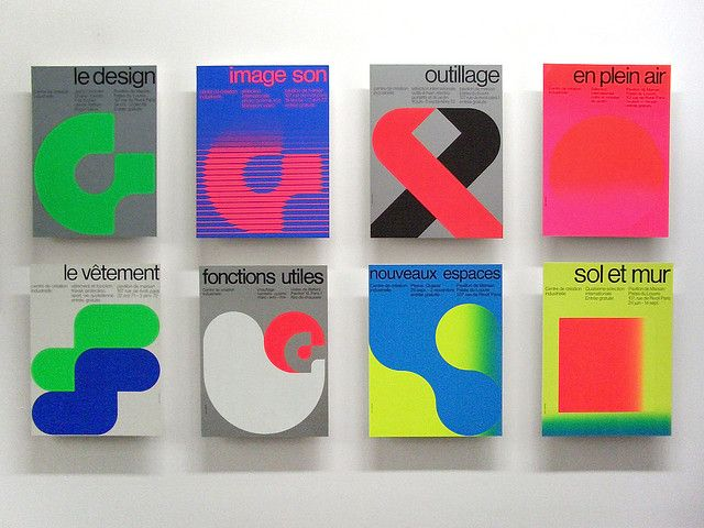 Pompidou - graphics by Jean Widmer