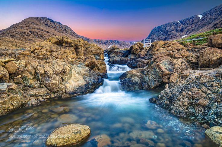 Tablelands Waterfall at Dawn by gord_follett