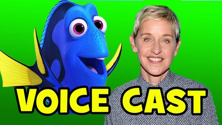 FINDING DORY Voice Cast B-ROLL - Ellen DeGeneres, Ed O'Neill, Kaitlin Ol...