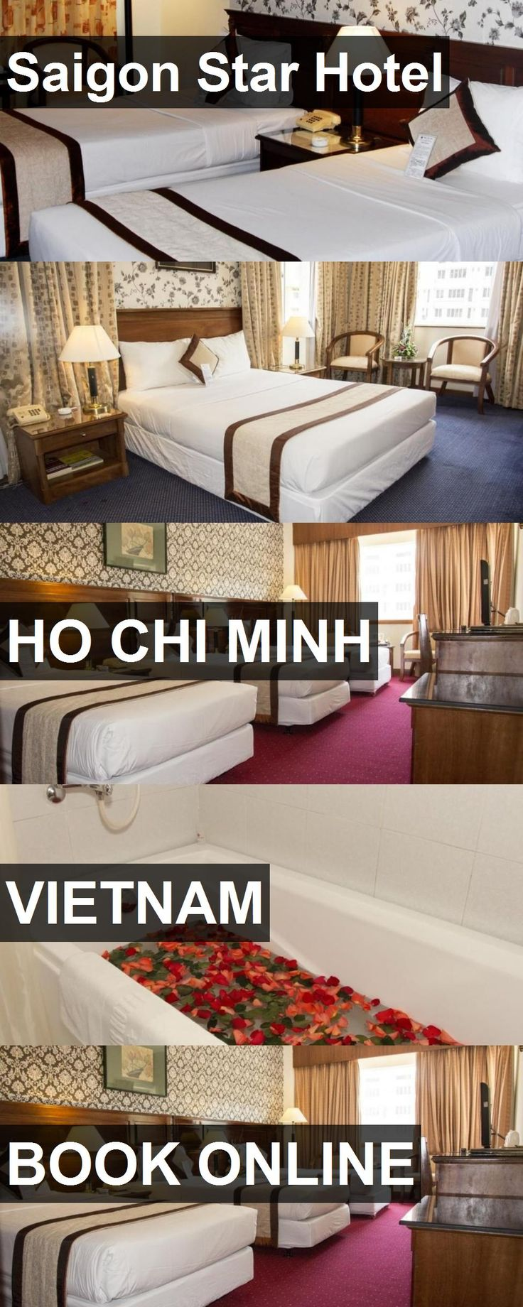 Hotel Saigon Star Hotel in Ho Chi Minh, Vietnam. For more information, photos, reviews and best prices please follow the link. #Vietnam #HoChiMinh #SaigonStarHotel #hotel #travel #vacation