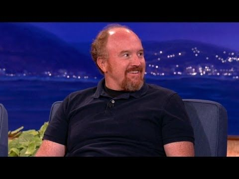 """Louis C.K. Hates Cell Phones - """"sadness is poetic"""" ---  if society goes in one direction, it's probably best to go the other way."""