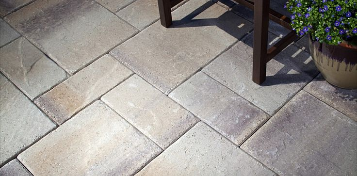 New Lafitt Patio Slab By Belgard_Great Looking For A Concrete Paver! |  Design Ideas | Pinterest | Patio Slabs, Concrete Pavers And Patios