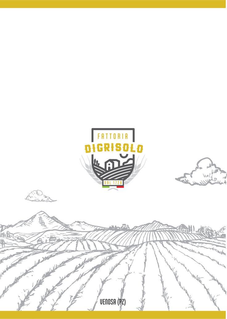 CLIENTE: Fattoria Digrisolo - VENOSA  LAVORO: Studio e Progettazione Logo Aziendale