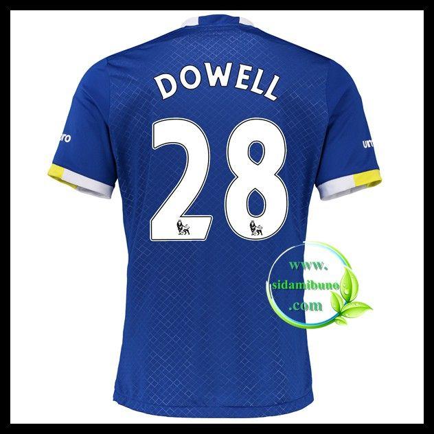Fotballdrakter Everton DOWELL #28 Hjemmedraktsett 2016-2017