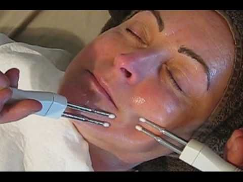 Joan shares valuable information with you, the client, about the procedure, technique, and benefits of the microcurrent facials. So many microcurrent machines reasonably priced on Ebay & Amazon. Microcurrent is amazing.
