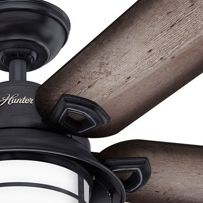 "Hunter Fans 54"" Key Biscayne 5 Blade Ceiling Fan & Reviews 