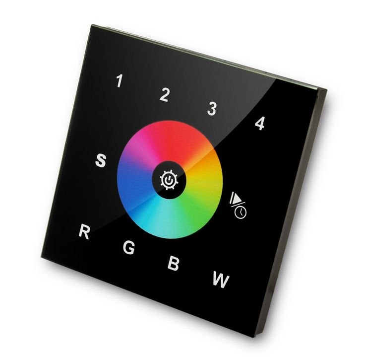 RGBW wall mounted controller