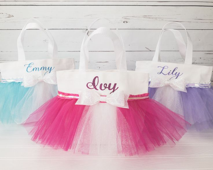 Excited to share the latest addition to my #etsy shop: Personalized Toddler Girl Gift - Valentines Day - Gift for Girls - Gift for Young Girl - Tutu Tote Bag