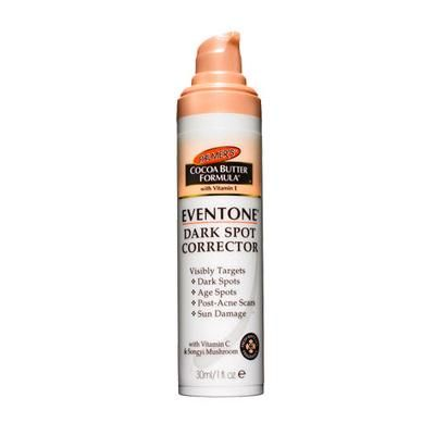 """Best Skin Brightener: Palmer's Cocoa Butter Formula Eventone Dark Spot Corrector. The fast-absorbing lotion """"faded dark spots"""" and has a pleasant white-lily fragrance."""