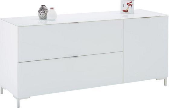 Trendiges Sideboard in Weiß NB - schick, stilvoll und praktisch