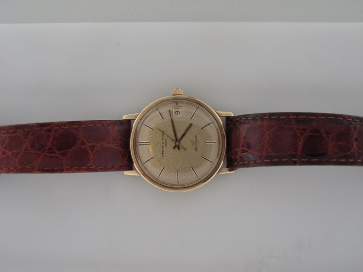 1950's Eternamatic Wristwatch 18k Gold *pricing available upon request