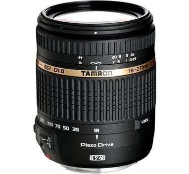 Tamron AF 18-270mm f/3.5-6.3 Di-II VC LD PZD Lens for Canon