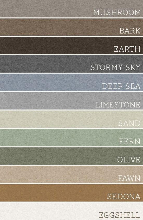 Take any set of 3 of these colors and each room would be amazing. A palette for the whole house @ Home Ideas Worth Pinning