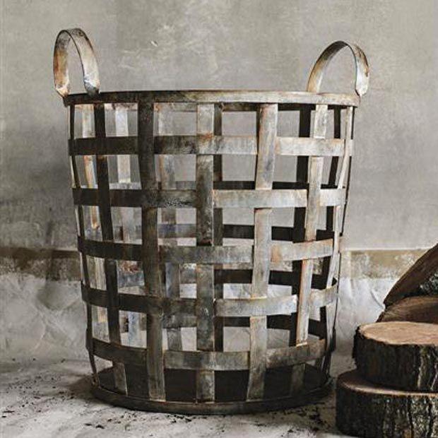 Metal Lattice Basket | dotandbo.com
