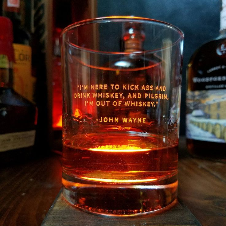 Whiskey Lovers Engraved Personalized Whiskey Glasses-Glassware-Bourbon & Boots