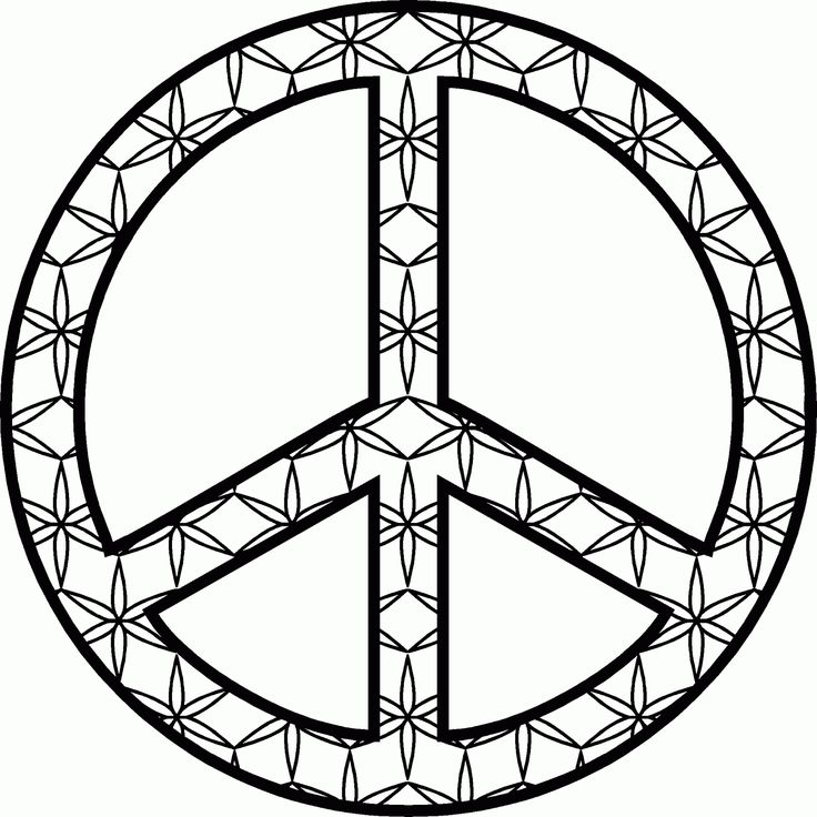 193 Best A Craft Peace Sign Color 4 Tam Images On Pinterest