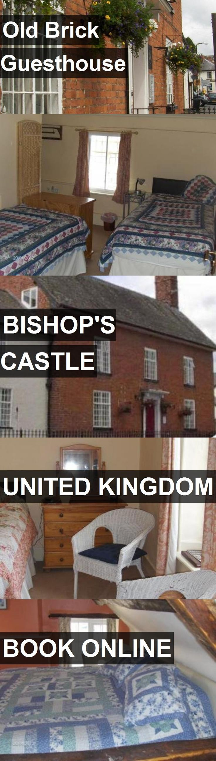 Hotel Old Brick Guesthouse in Bishop's Castle, United Kingdom. For more information, photos, reviews and best prices please follow the link. #UnitedKingdom #Bishop'sCastle #OldBrickGuesthouse #hotel #travel #vacation