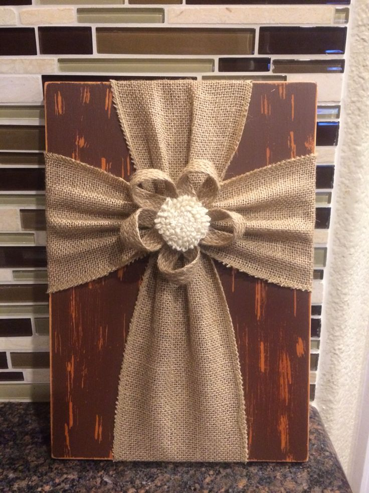 Made from reclaimed wood 724 best Burlap