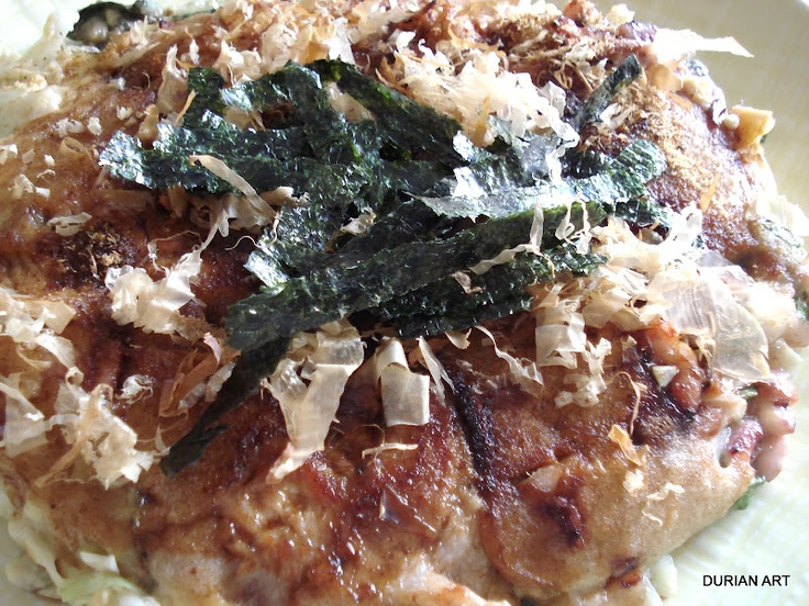 Osaka's okonomiyaki