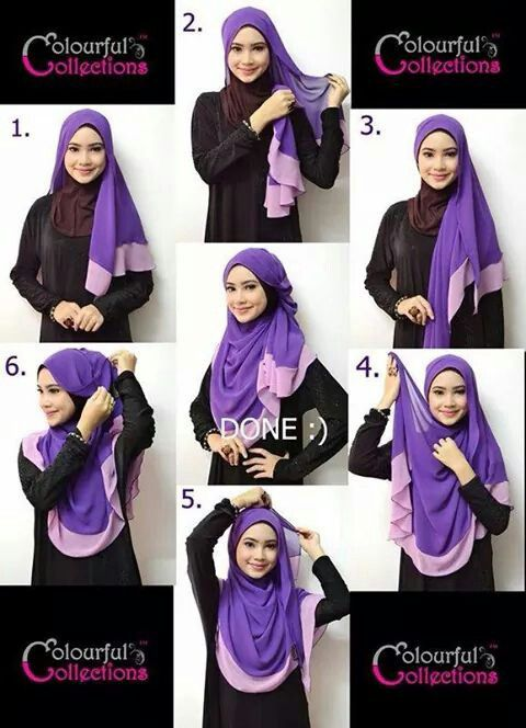 labuh shawl tutorial