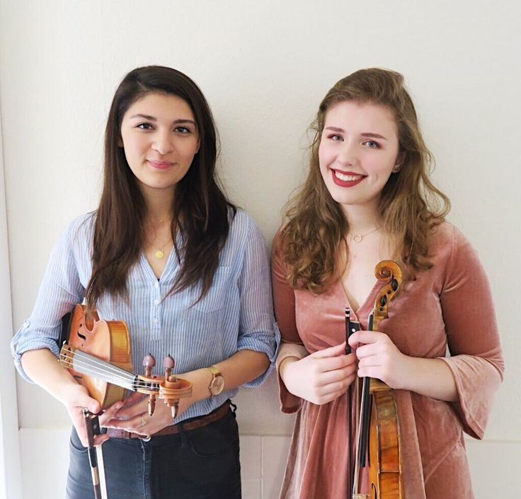 Personal lifestyle blog of two violinists
