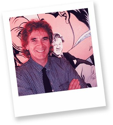 Artist in focus: Noel Bruzzese  Noel's artworks are highly colourful, thoughtfully composed and executed. The juxtaposition of iconic Art and Pop Culture images that heavily influenced his upbringing creates a harmonious alliance that helps his story of self-discovery!