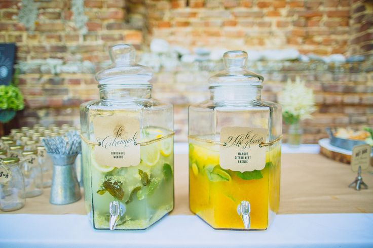 Thé glacé mangue citron vert et basilic & citronnade gingembre et menthe – Ricardo Vieira Photographe