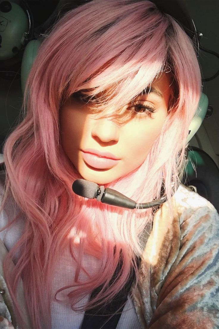 Pink Hair Trend: As Seen On Kylie Jenner and Zayn Malik 2016 (Vogue.co.uk)