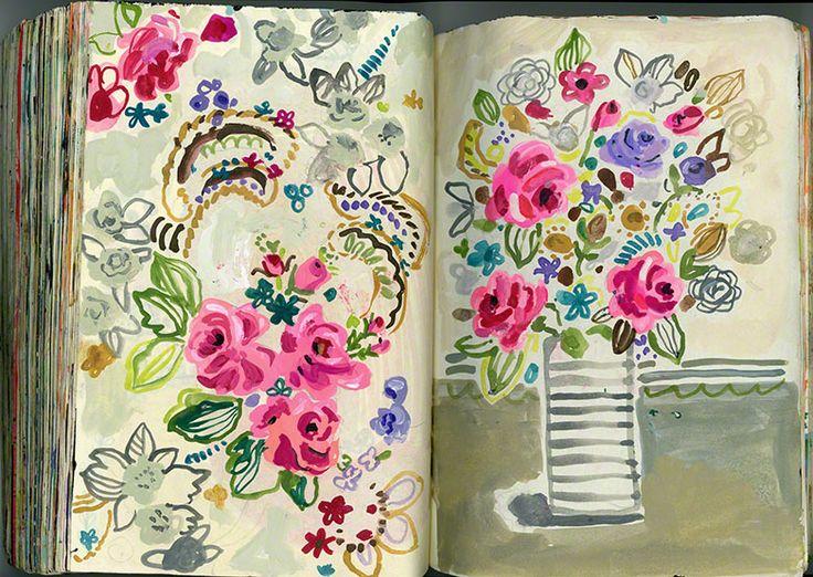 Art Journal by Jennifer Lewis