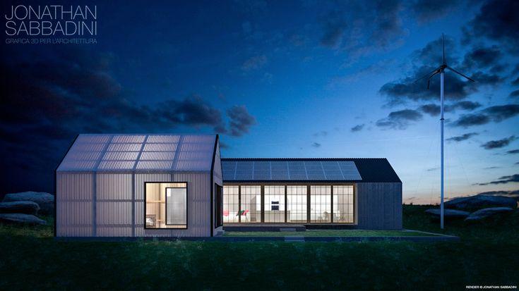 Architettura moderna e materiale traslucido - studio - © Jonathan Sabbadini