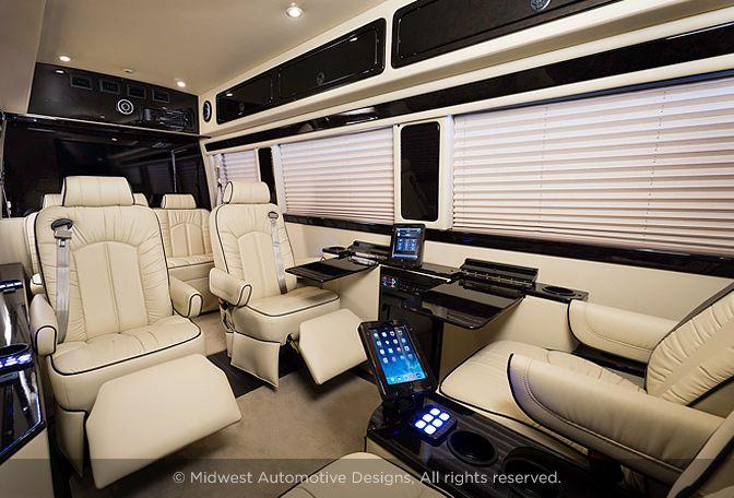 Luxury Mercedes Sprinter Midwest Automotive Designs