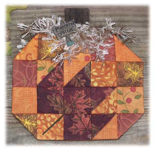Happy Hollow Designs: PUMPKIN PATCH ESPRESSO FABRIC KIT