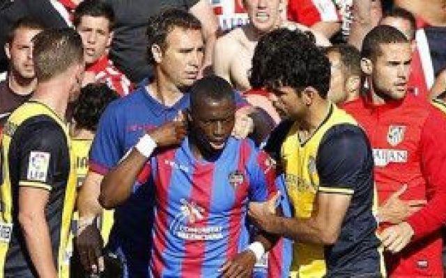 """,Diop: """"Bisogna farla finita con i versi della scimmia""""Levante-Atletico 2-0. Nuovo episodio di razzismo"""