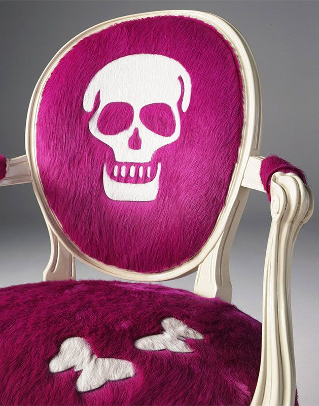 Skull Chair - Furniture designed by Britto Charette, Kyle Bunting