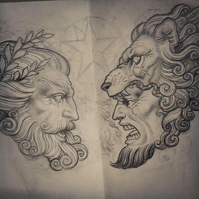 Resultado de imagen para bocetos de estatuas de dioses olimpo
